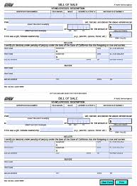 Dmv Bill Of Sale Free California DMV Bill Of Sale REG 24 Vehicle Boat Form 4