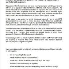 Personal Statement Examples Ucas The Personal Statement Is An Important Part Of Application For Times