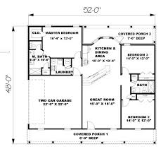 2 bedroom house plans under 1500 sq ft lovely best house plans under square feet 5