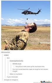 Australian Army by siljkekoe - Meme Center via Relatably.com