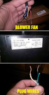 electrical can i wire a microwave blower fan to a plug by itself enter image description here
