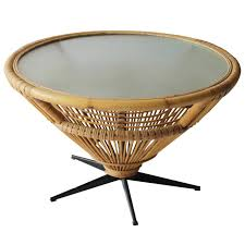 Coffee Table Rattan Rattan Coffee And Cocktail Tables 59 For Sale At 1stdibs