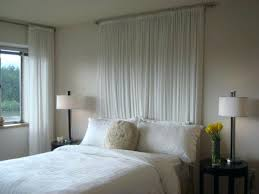 diy shower curtain ideas. Diy Curtain Headboard Whimsical Ideas Without The Actual Shower S
