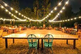 diy outdoor wedding lighting. Modren Wedding Diy Outdoor Wedding Lighting Simple On Interior String Lights For Outdoors  Patio Back Yard Image Backyard In N