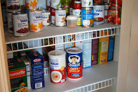 Kitchen Closet Organization Organizing The Pantry Quick Fix For Wire Shelves Eat At Home