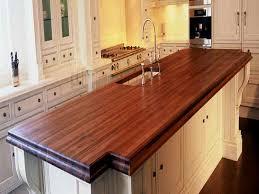 homemade wood countertops