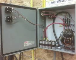 need help wiring up rotary phase converter i have a disconnect not pictured ahead of the panel shown that is not used for switching the rpc on or off i used an actual motor starter a contactor