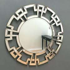 contemporary round wall mirrors round wall mirror more images long decorative mirrors contemporary metal round wall