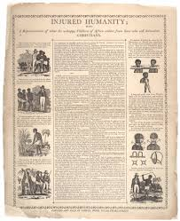 the horrors of slavery the gilder lehrman institute of samuel wood injured humanity being a representation of what the unhappy childr
