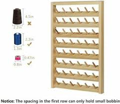 hanging spool rack