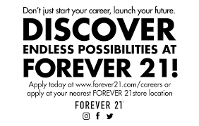 Careers Forever 21