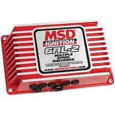 msd 6al box msd 6421 ignition box msd 6al 2 digital cd rev limiter red ea