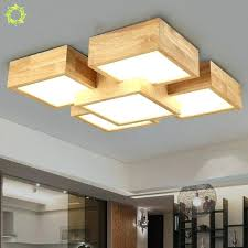 wooden ceiling lights creative bedroom lamp style solid wood ceiling lamp aisle lighting for living room