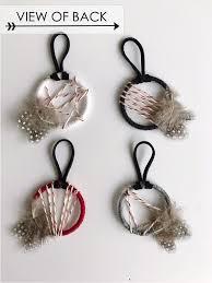 Dream Catcher Christmas Ornament Boho Christmas Ornaments Mini Holiday Dream Catchers Bast Bruin 37