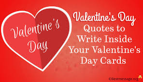 Valentines Day Quotes To Write A Inside Your Valentines Day Cards