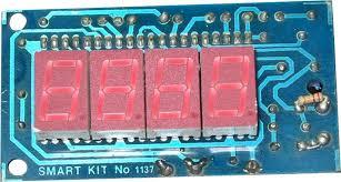 led display digital voltmeter electronics lab image 2