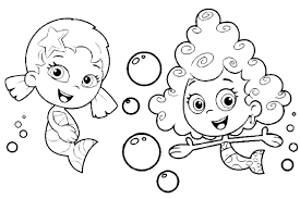 Small Picture Fancy Bubble Guppies Color 62 For Your Coloring Site with Bubble