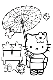 A large version of the printable hello kitty coloring sheets will open in a new window. Hello Kitty Coloring Pages Overview With A Lot Of Kitties