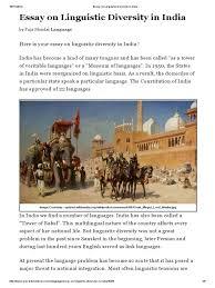 essay on linguistic diversity in multiculturalism  essay on linguistic diversity in multiculturalism linguistics