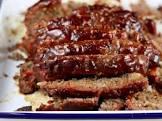 b b q meatloaf