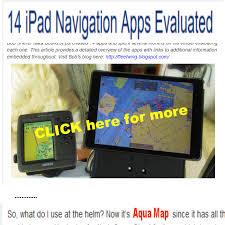 Aqua Map Android Marine Navigation Gps Boating Charts