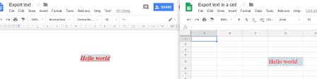 Google Doc Format Google Script Copy Text Formatted From Google Docs To Spreadsheet