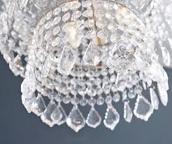 Kronleuchter Royal 40 cm Transparent Acrylglas Möbel Leuchten ...
