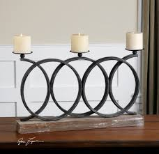 the kara fireplace candelabra is narrow enough to use on a fireplace mantel or a narrow