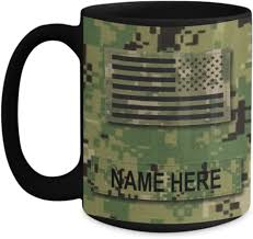 Below you will find our selection of u.s. Amazon Com Personalized Navy Coffee Mug Us Navy Usn Senior Chief Petty Officer Scpo E8 Nwu Type Iii Material Customize With Name Or Text 15 Oz Cu Kitchen Dining
