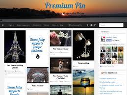 Wordpress Website Templates New Premium Pin WordPress Theme PR WordPress Themes