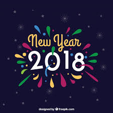 New Year Backgrounds Colorful New Year Background Vector Free Download