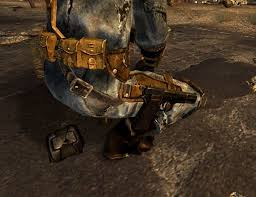 New Vegas Weapon Mod Vending Machine Magnificent One Handed Weapon Holster Replacer At Fallout48 Nexus Mods And