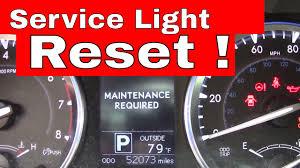 Reset Oil Change Light 2012 Highlander Correct Way To Reset Maintenance Required Warning Toyota Highlander