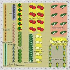 Small Picture Vegetable Garden Layout Planner erikhanseninfo