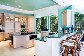 kitchen ideas white cabinets black countertop. This Refreshingly Bright Kitchen Is A Fun Example Of How To Use Color And Keep Your Ideas White Cabinets Black Countertop T