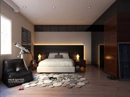 modern bedroom black and red. Modern Bedroom Ideas Grey Red Wall Black Wooden Table White Transparent Curtain Bedding And I