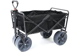 folding garden cart. Folding Garden Cart Mac Sports Heavy Duty Collapsible All Terrain Utility Wagon Beach Black .