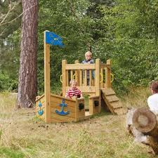 tts wooden outdoor pirate ship large