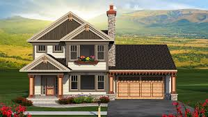 Smart Plans for Small Homes   Ample Storage   Builder    This attractive two story home features eye catching details such as wood columns  a flower box  and a pergola over the garage  Inside  the open concept