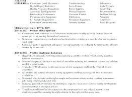 Electronics Technician Resume Samples Electronics Resume Examples Electronics Technician Resume Samples