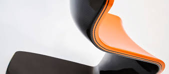 Carbon Fiber Chair F1 Carbon Lounge Chair Philip Caggiano