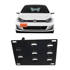 Volkswagen Car With Screw Light Jgr Racing Car No Drill Tow Eye Front Bumper Tow Hole Hook