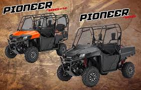2018 honda utv. modren honda 2018 honda pioneer 700 deluxe u0026 7004 model review  specs in honda utv o