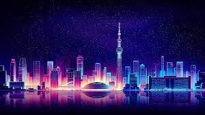 21 Neon City Wallpapers - Wallpaperboat
