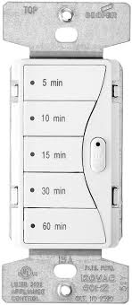 cooper wiring devices 9590aw aspire 5 on preset minute timer alpi