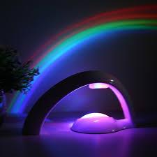 Rainbow Projector Light Novelty Led Rainbow Night Light Projector