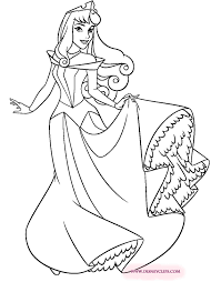 Beautiful Concept Aurora Coloring Pages Cone Crusherclub