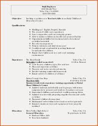 Child Caregiver Resume Sample Resume Examples Child Care