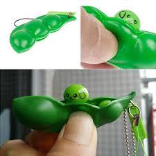 Cute <b>Creative Extrusion Pea</b> Bean Soybean Edamame Stress ...