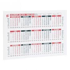 Office Calender 5 Star Office 2019 Wall Or Desk Calendar Jan 2019 March 2020 A4 297x210mm White